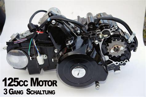 125ccm Motorrad Ersatzteile by Kinderquad Motor 125 Ccm Quad Motor 3 Gang Schaltung
