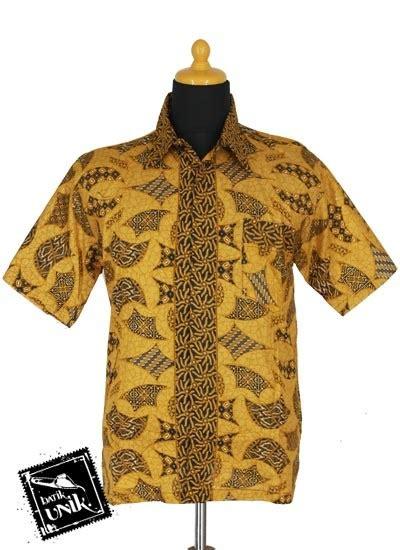 baju batik sarimbit blus motif parang benji tumpal