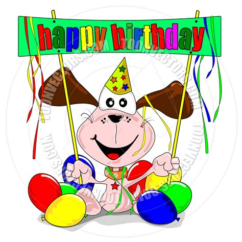 Happy Birthday Clip With Dogs Free by Happy Anniversary Clipart Cliparthut Free Clipart