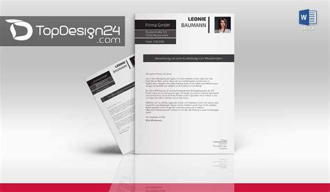 Bewerbungsschreiben Design Vorlage bewerbungsschreiben vorlage deckblatt word