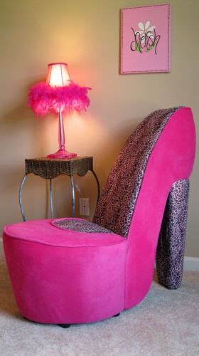 pink thing of the day pink shoe chair the worleygig