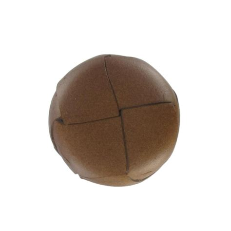 Button Leather by Genuine Leather Button Chesnut Ma Mercerie