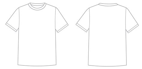 t shirt template wwhssiga