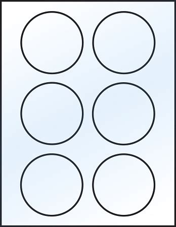 8 best images of printable circle label template free