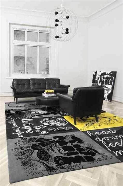 mas alfombras artisticas  interiores modernos