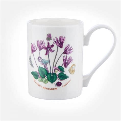 portmeirion botanic garden coffee mug botanic garden coffee mug cyclamen
