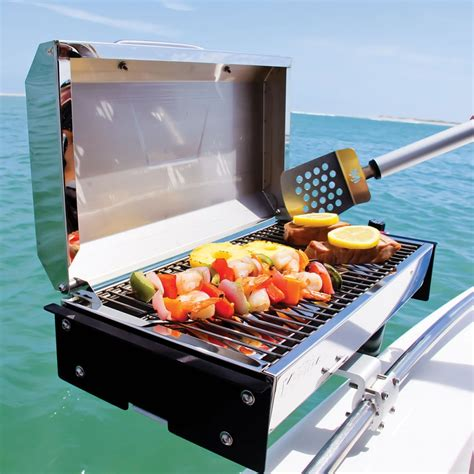 boat rail grill boat grills bbq equipment on the water boats