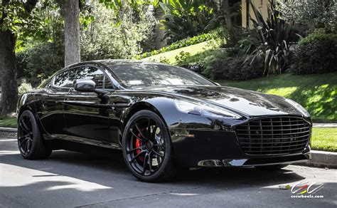aston martin sedan black aston martin rapide s with cec forged wheels and black out