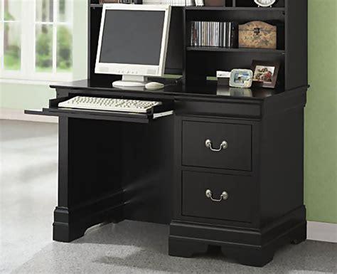 Black Desks For Bedroom by Simple House Designs