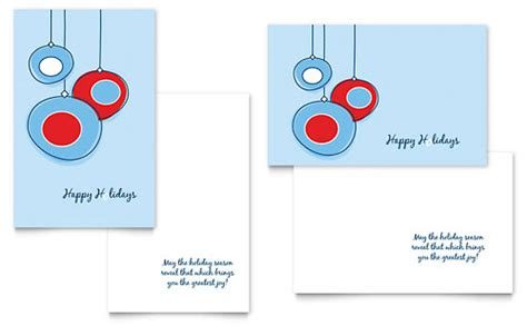Adobe Illustrator Greeting Card Template by Greeting Card Templates Indesign Illustrator Publisher