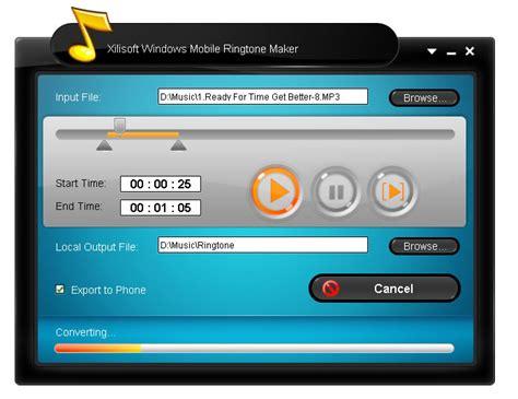 free mp mobile downloads xilisoft windows mobile ringtone maker screenshot