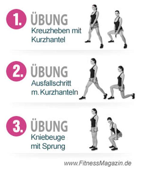 workout für zuhause bauch beine po 3 220 bungen f 252 r schlanke beine workout and fitness