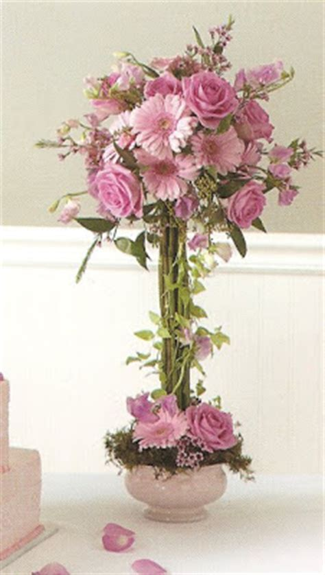 wedding tidbits centerpieces fresh silk flower