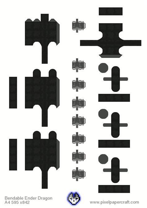 Ender Papercraft - papercraft bendable ender no toothpicks