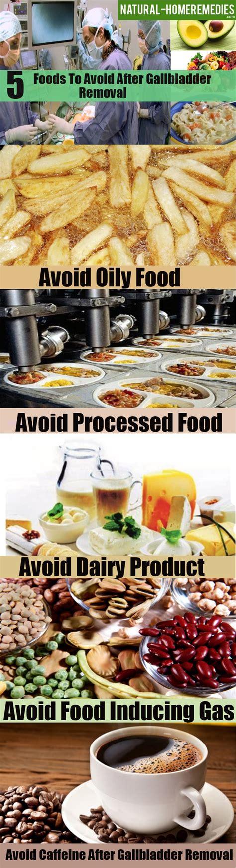 foods  avoid  gallbladder removal diet  avoid