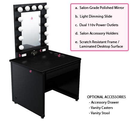 broadway lighted vanity makeup desk details about broadway lighted vanity makeup desk