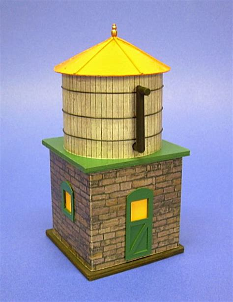How To Make A Water Tower With Paper - building spook hill water tower from big indoor trains and