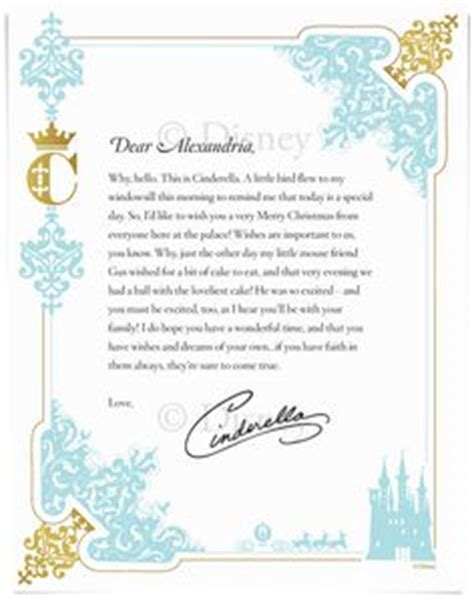 disney letter template a welcome letter from your child s favorite disney