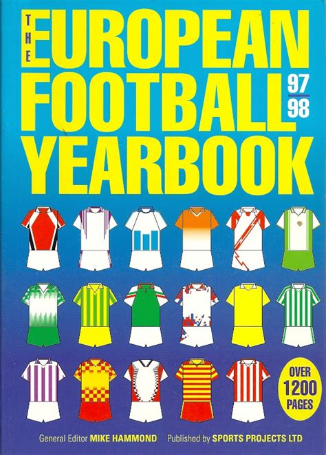 european football yearbook european football yearbook 1997 1998 mike hammond