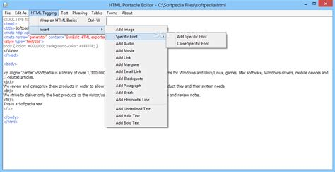 layout editor portable html portable editor download