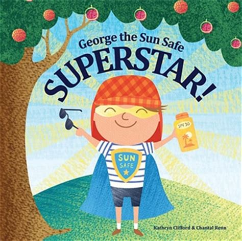 superstar books teach children about sun safety and sunburn with national