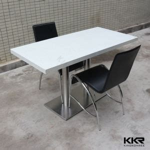 china quartz top dining table and chair for