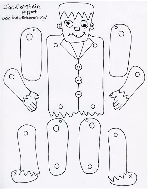 frankenstein template diy frankenstein paper doll source https docs
