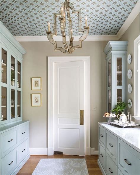 ceiling wallpaper designs 1000 ideas about wallpaper cabinets on bead board wallpaper faux granite and cabinets