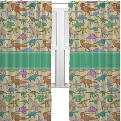 dinosaurs curtains dinosaurs sheer curtains personalized youcustomizeit