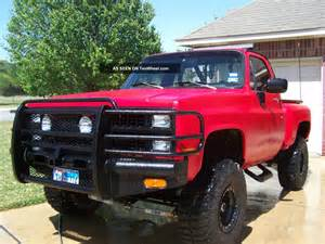 bad a 1981 chevy truck rhino inside and out fully equipt