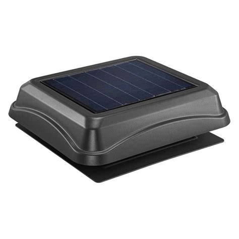 solar attic fan attic fans vents ventilation the