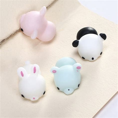 silicone animal squishy aksesoris hp 2017 squishy toys mini soft silicone squeeze