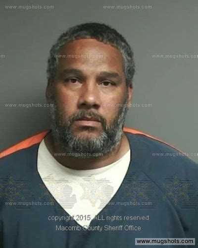 Arrest Records Macomb County Dwayne Gibson Mugshot Dwayne Gibson Arrest Macomb County Mi