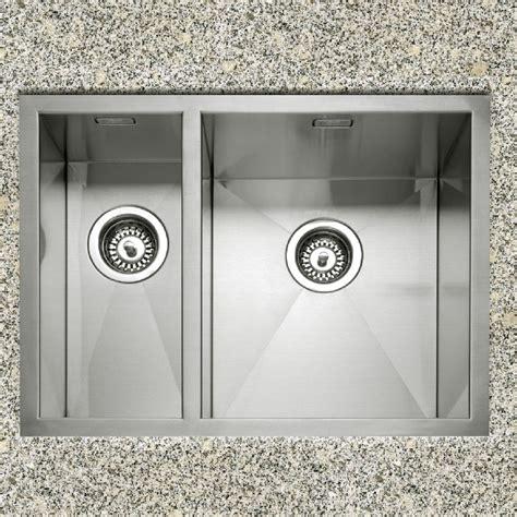 1 5 Kitchen Sink Caple Zero 150 Stainless Steel Inset Or Undermount 1 5 Bowl Kitchen Sink