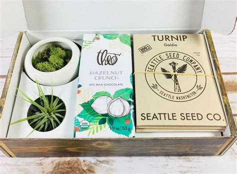 Gardening Subscription Box by Plowbox Winter 2017 Gardening Subscription Box Review