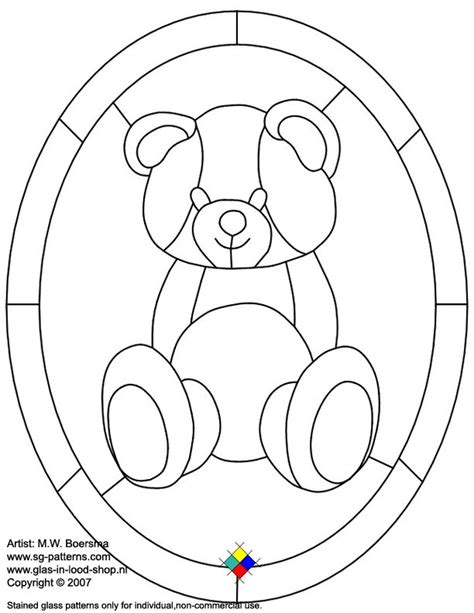 suncatcher coloring page stained glass patterns for free glass pattern 932