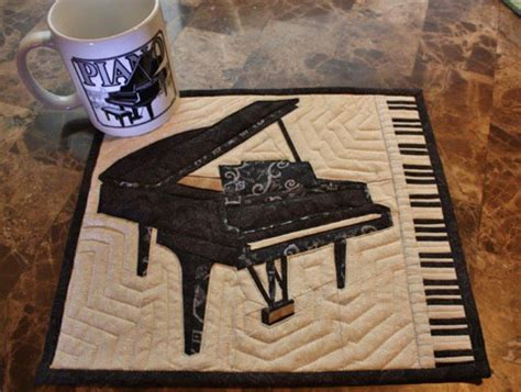 Piano Quilt Pattern by Piano Quilt Patterns Quilt Pattern