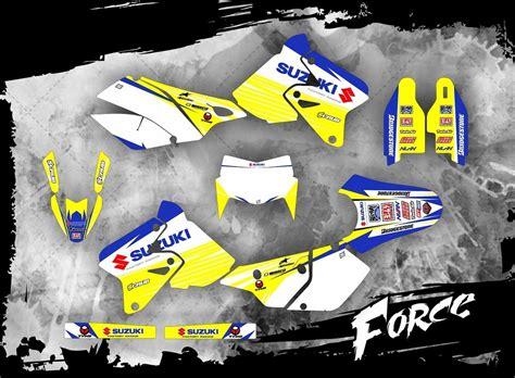 drz 400 dekor suzuki drz 400 dekor 1999 2016 mx kingz motocross shop