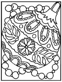 christmas ornament coloring page crayola com