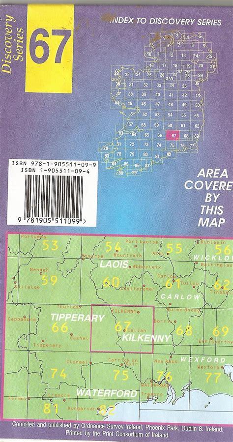 discovery maps ordnance survey discovery series maps co kilkenny