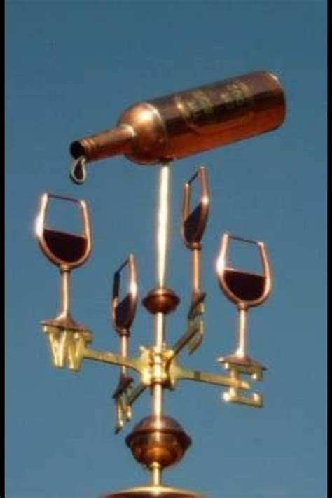 Weathervane Decor Wine Weather Vane Weather Vanes