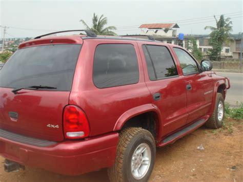 rugged suv with gas mileage 2000 dodge durango 4x4 rugged offroad suv autos nigeria