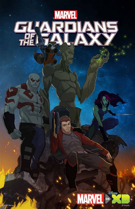 guardians   galaxy animated series cast members revealed ign