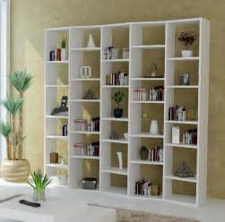 modern white shelving unit bookcases and shelves contemporary furniture