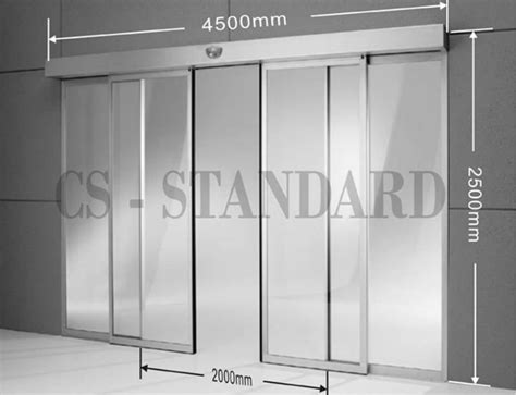 Width Of Sliding Glass Doors Standard Automatic Sliding Glass Door Size Buy Standard Sliding Glass Door Size Multi Sliding
