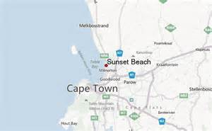 sunset south africa weather forecast