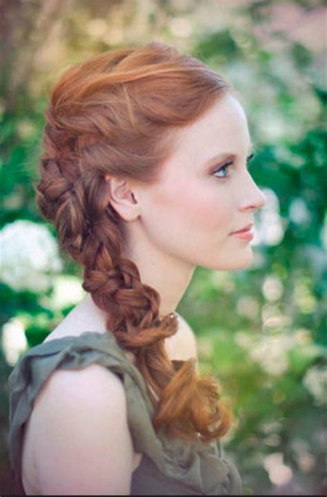Bridal Hairstyles Side Braid by Simple Updo Hairstyles For Your Wedding Day Hair World