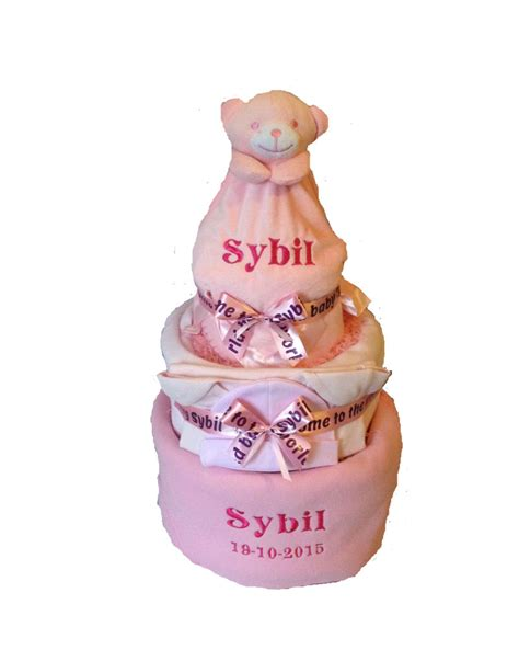 personalised cakes personalised nappy cake from churchtown gifts