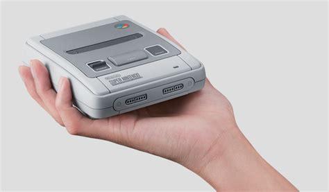Nintendo Mini pr 233 commande nintendo mini la snes rejoint la nes
