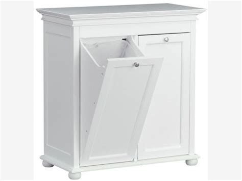 tilt out laundry her cabinet hton bay 26 inch white double tilt out clothes laundry
